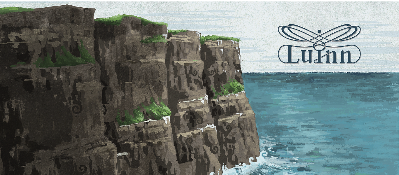 Clliff of Moher Illustration